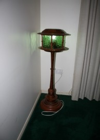 Green Lightlhouse Lamp