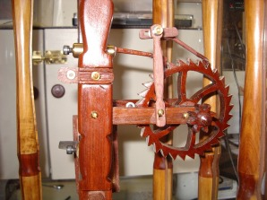 Wooden count wheel